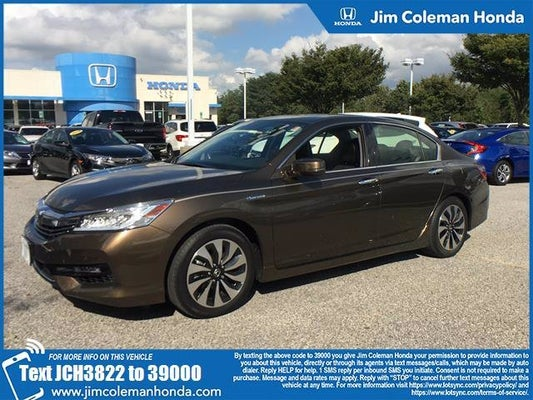 2017 Honda Accord Hybrid Touring In Baltimore Md Jim Coleman